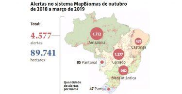 MapBiomas Alerta