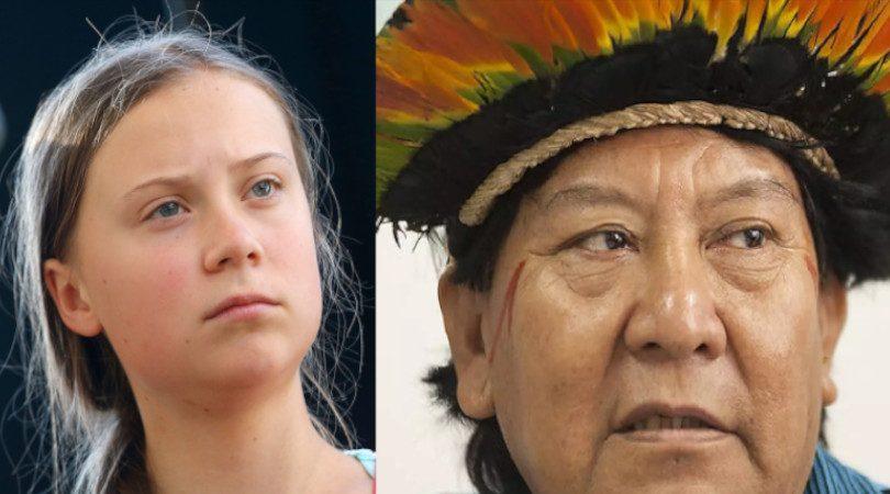 Davi Kopenawa Greta Thunberg