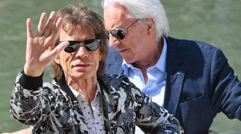 Mick Jagger e Donald Sutherland