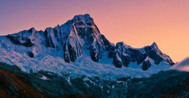 geleiras nos Andes
