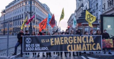 espanha emergência climática