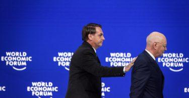 pressão Davos