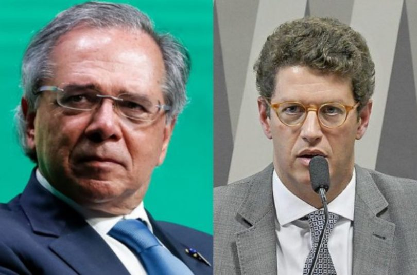 Guedes x Salles