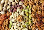 frutos, nozes e sementes