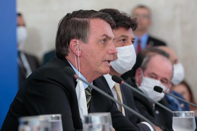bolsonaro ministros coronavirus