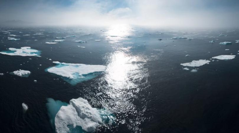 elevação do nível do mar