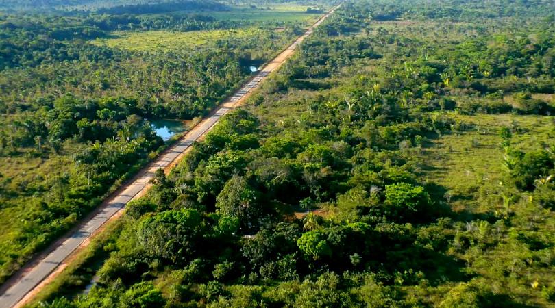 infraestrutura Amazônia