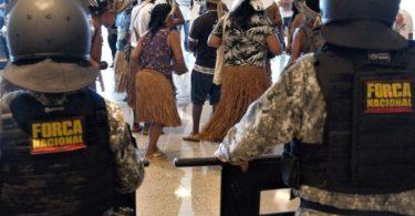 manifestações indígenas
