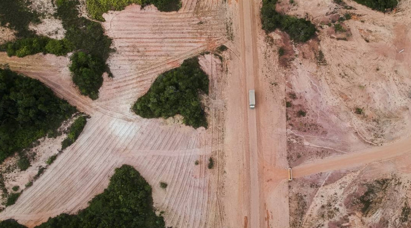 desmatamento por garimpo