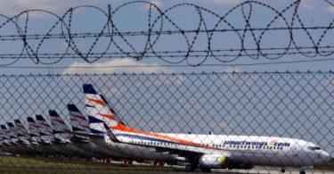 emissões aviação