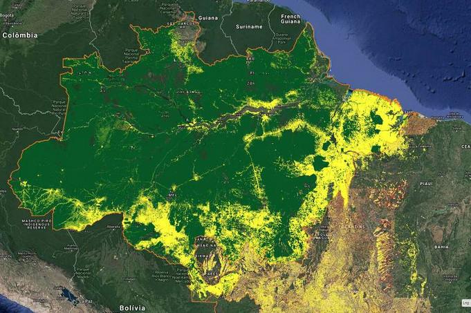desmatamento aumentando