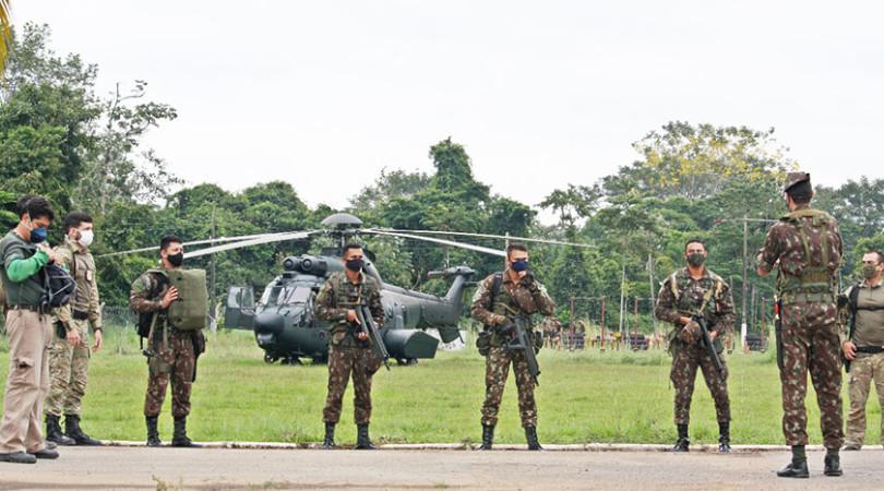 forças armadas Amazônia