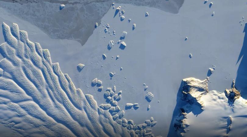 geleiras Antártica oriental