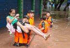 inundações China