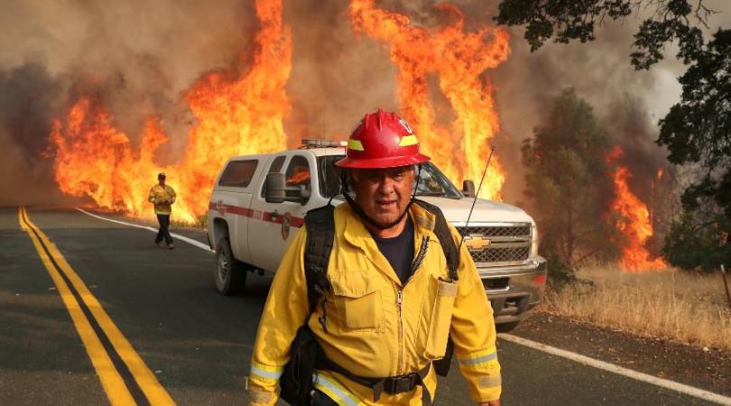 Califórnia crise climática