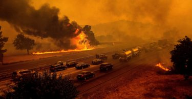califórnia em chamas