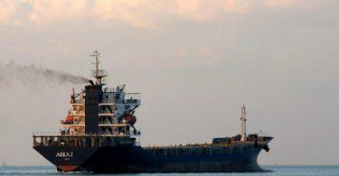 emissões transporte marítimo