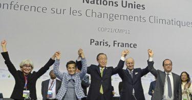 Acordo de Paris aniversário