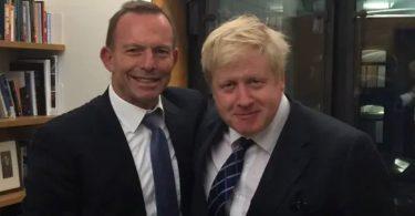 Boris Johnson Tony Abbot