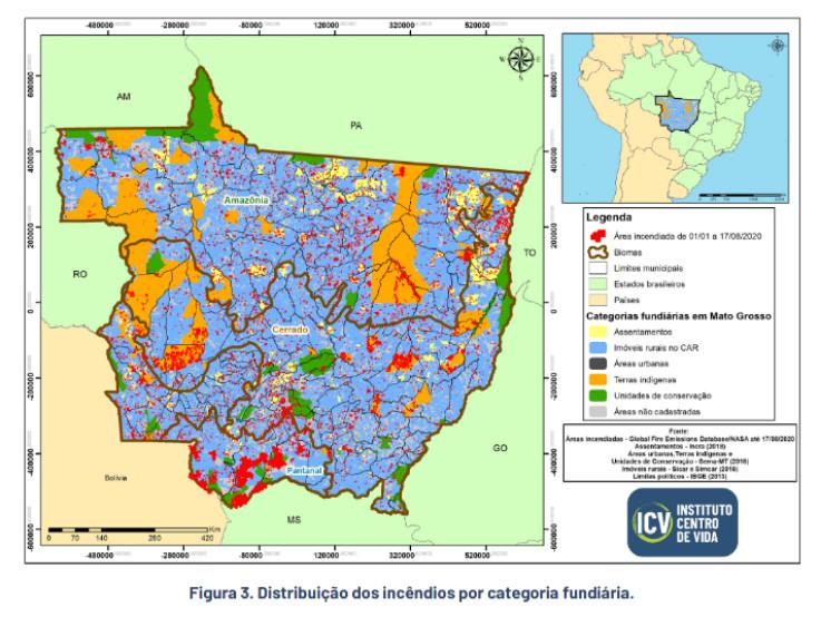 Mato Grosso queimadas