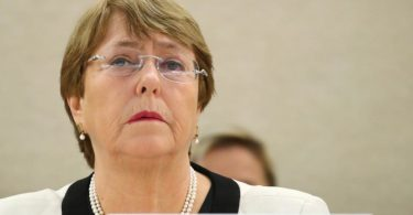 comissária da ONU Michel Bachelet