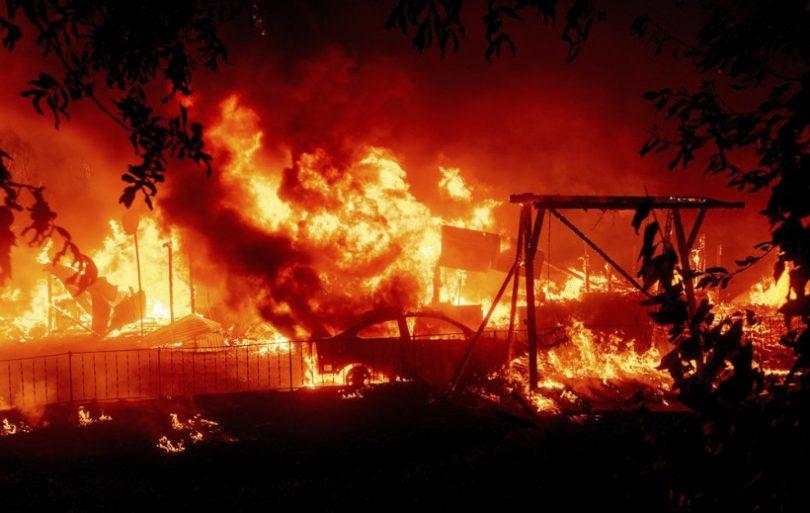 incêndios Florestais Califórnia
