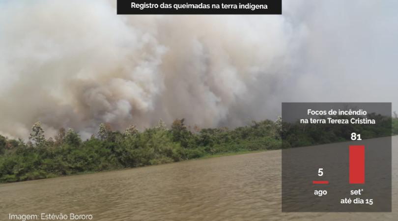 queimadas pantanal terras indígenas