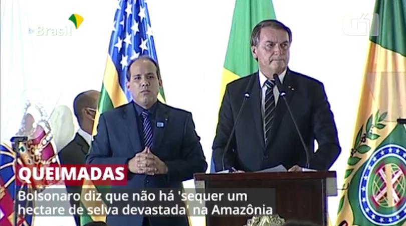 Bolsonaro queimadas Amazônia