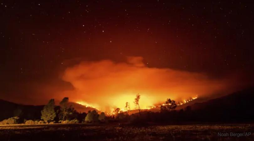 Califórnia gigaincêndio