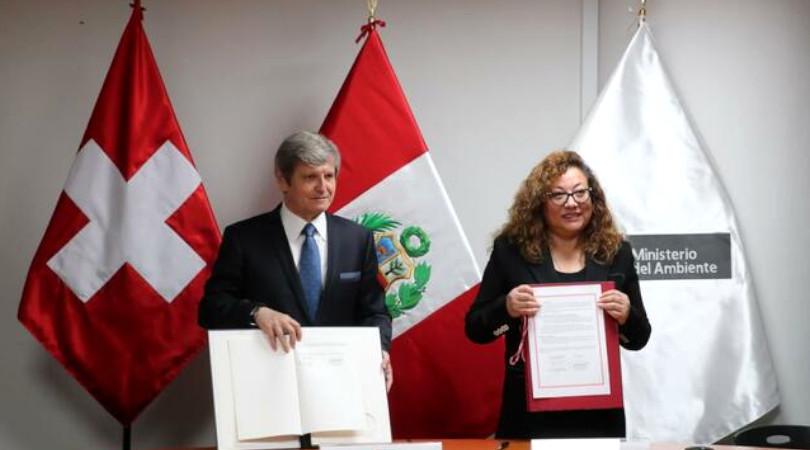 Peru e Suíça