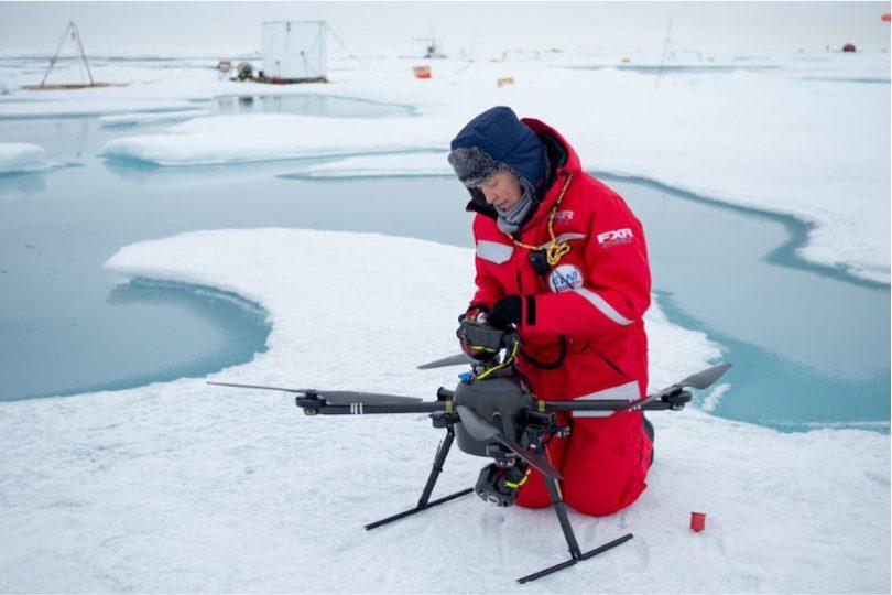 drone Polo Norte