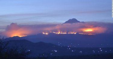 kilimanjaro incêndios