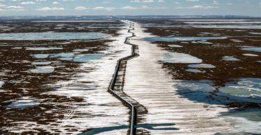 petroleiras permafrost