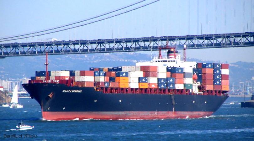 transporte marítimo emissões