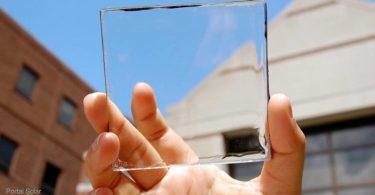 células solares transparentes