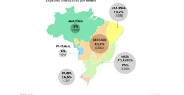 espécies brasileiras ameaçadas