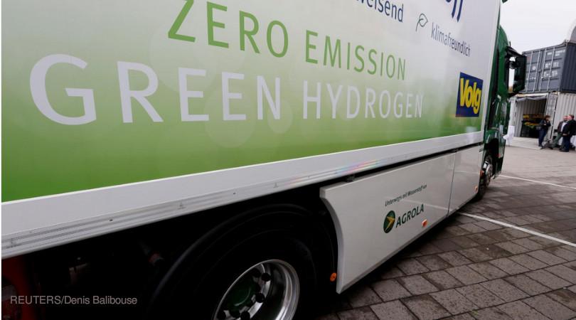hidrogênio emissões