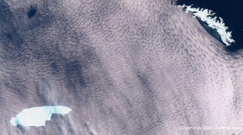 iceberg Antlântico Sul
