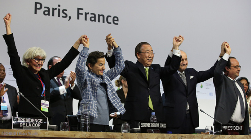 Acordo de Paris 5 anos negociadores