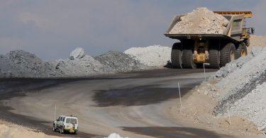China Austrália carvão