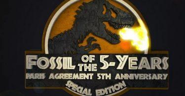 Fóssil dos 5 anos
