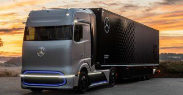 caminhões hidrogênio