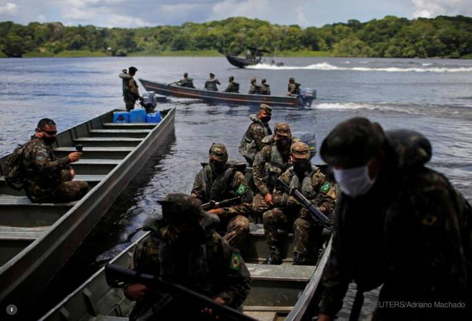 crise climática segurança Brasil