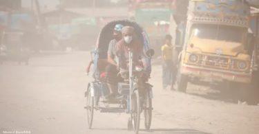 Bangladesh poluição do ar