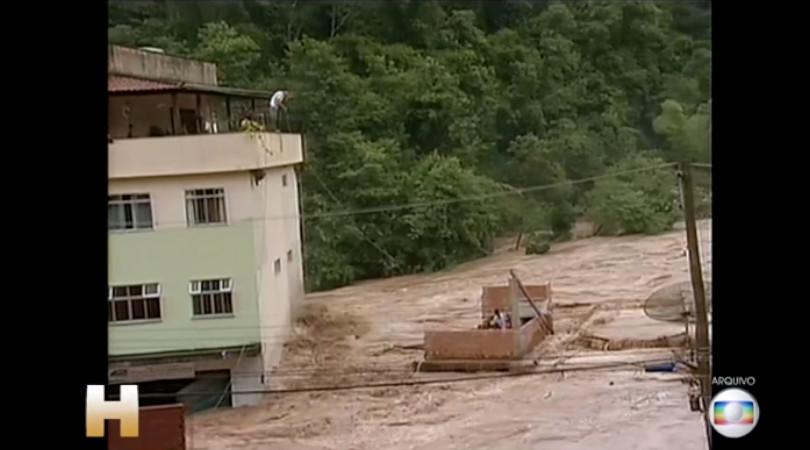 Rio de Janeiro enchente