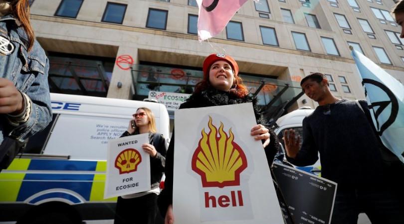 Shell litigância climática