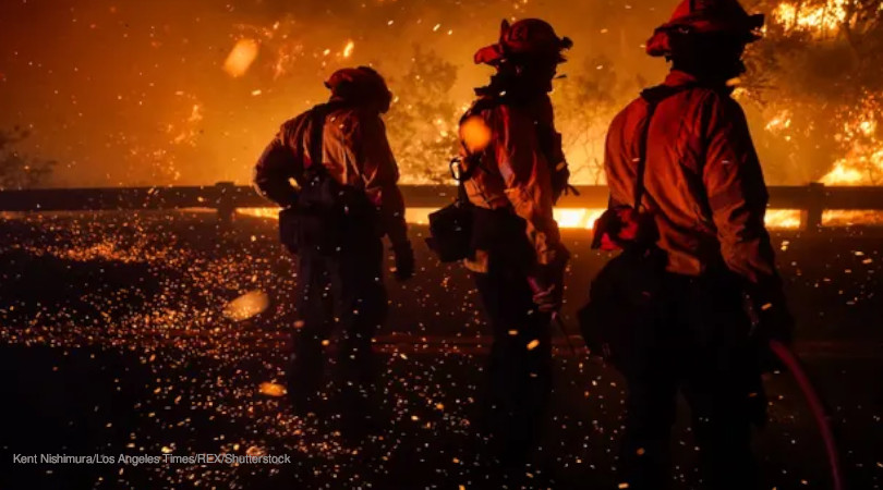 incêndios Califórnia
