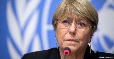 Alta-comissária da ONU Michele Bachelet