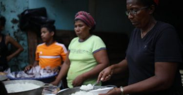 América Central fome