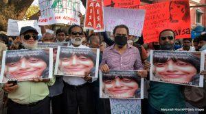 Índia ativista presa